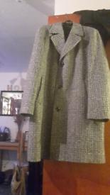 Mans overcoat