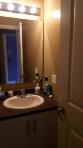 Rec-room converted into bedroom $600/mth