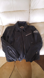 Men's Harley Davidson leather jacket