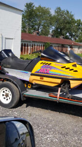 looking to trade two sleds for project car
