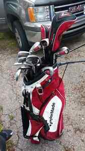 Taylor made bag with callaway diablo clubs