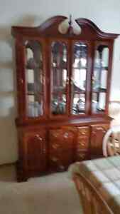 China Cabinet - 2 pcs with internal light. Excellent condition