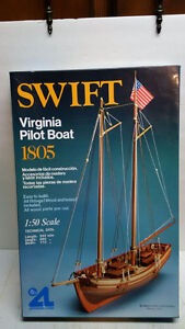Small Wooden Ship Model