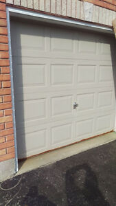 8x7 non insulated garage door