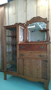 Antique one of a kind piece of furniture!