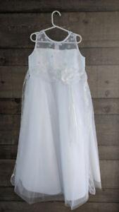 First Communion / Flower Girl Dress - Size 8 Girls