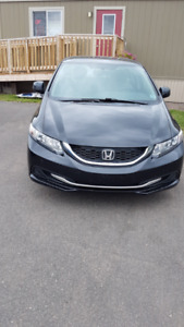 2013 HONDA CIVIC 59,000 KMS