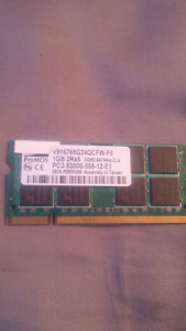 1GB DDR2 Laptop Memory PROMOS