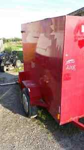 Looking to trade Enclosed Trailer
