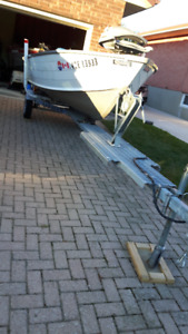 14 FT. Aluminum Boat with16FT. Trailer