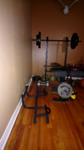 Bench press and extra