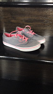 Size 2 girls Vans sneakers