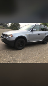 2003 BMW X3 Black SUV, Crossover