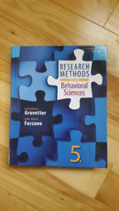 Research Methods for the Behavioral Sciences (5th Ed)
