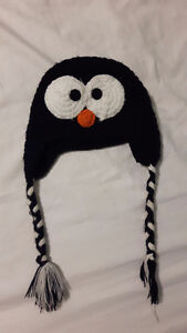 Knit Penguin or Owl Hat (Should fit a 1 year old)
