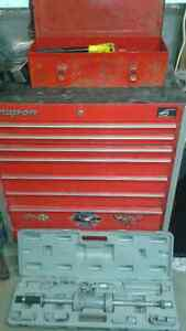 snap-on blue point tools box and more