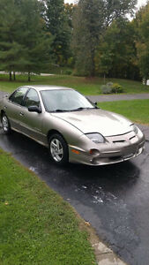 2002 Pontiac Sunfire Sedan AS IS