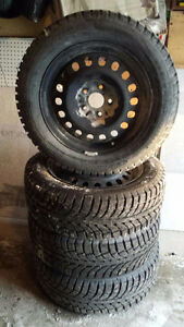 GT ice radials 225/60R17 with rims