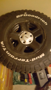 5 jeep tires and wheels LT265/75R16
