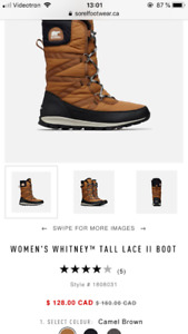 SOREL boot used 3 times this month