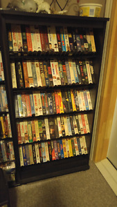 VHS/ with shelving
