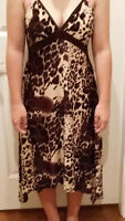 SAVANNA BROWN MAXI DRESS Brand New