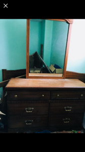 Dresser and head board