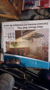 2 boxes unopened backsplash tile