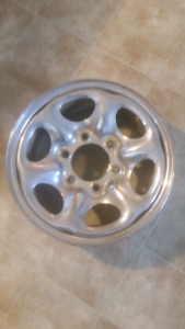 15 inch chrome steel rims