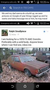 wanted! 1970 AMC Coupe (2 door)