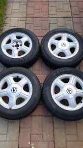 Kebek winter tires + acura mags