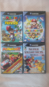 Nintendo Gamecube games- good condition- starting at $40