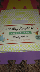 """Brand new """"firsts"""" baby book!!"""