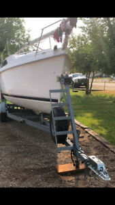 2001 Hunter 260 Trailerable Sailboat