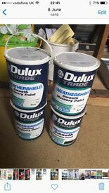 ICI DULUX TRADE WEATHERSHIELD SMOOTH MASONARY PAINT BLACK