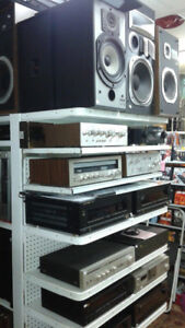 Stereo equipment & Speakers, Record Players, Records + More!