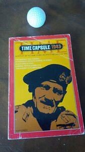 Time Capsule/1943 - From Time Magazine - Paperback Kitchener / Waterloo Kitchener Area image 1