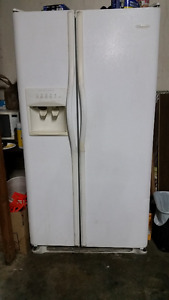 Side-by-Side Refrigerator and Freezer for Sale