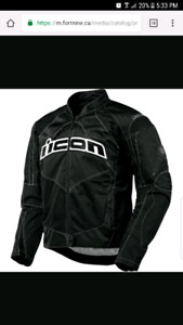 Icon overlord motorbike jacket $150obo