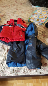 Baby Boy - 24 Months & Size 3 Winter Jackets - Manteau Hiver