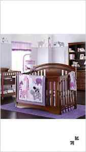 Delta elite crib set (purchased at Sears) Cambridge Kitchener Area image 1