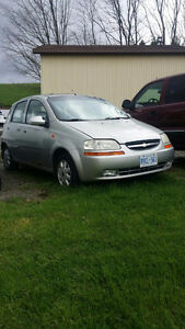 **NEW PRICE** 2004 Chevrolet Aveo LS Hatchback