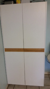 White Melamine cabinet set, priced to move