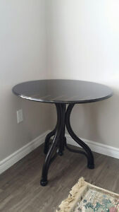 PIER ONE Black Table for Two / Occasional Table