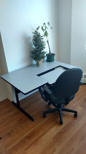 Computer desk and chair, FIRST COME FIRST SERVE!
