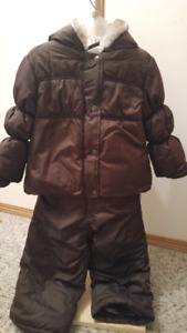 Multiple size 2 girl snow suits and jackets
