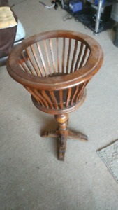 Real wood plant stand -ppu