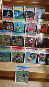 17 A Children's First Library series hardcover books