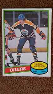 Edmonton Oiler Rookie Card Hall of Fame Collection