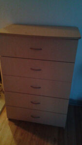 Five Drawer, Highboy Style Dresser